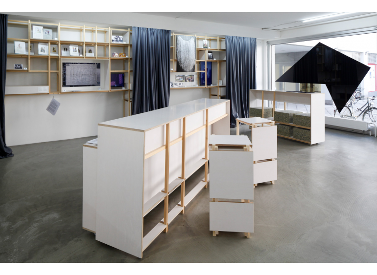 Department of Ultimology, What Where, 2018, research project and installation, steirischer herbst, photo: Liz Eve