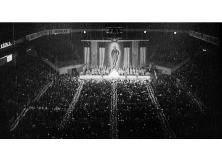 Nazi rally held at Madison Square Garden in 1939